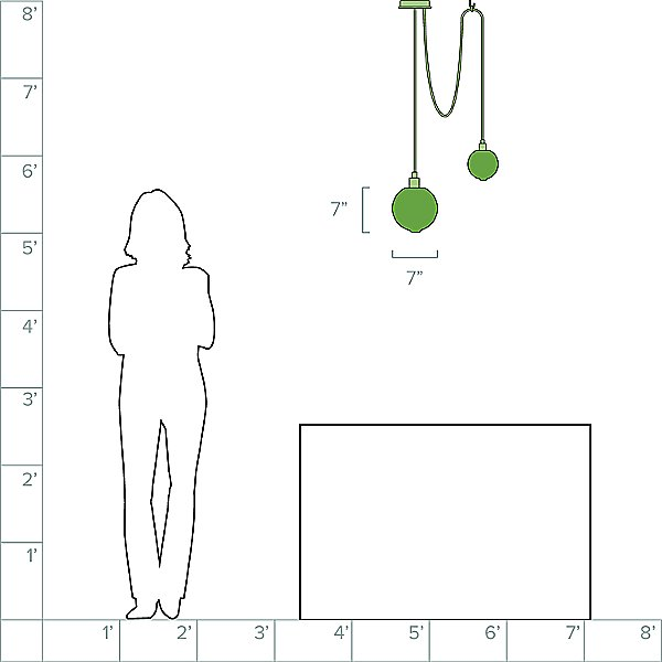 Drape Composition 1 Pendant Light