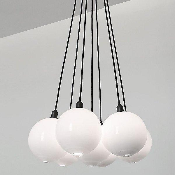 Drape Cluster Multi-Light Pendant Light