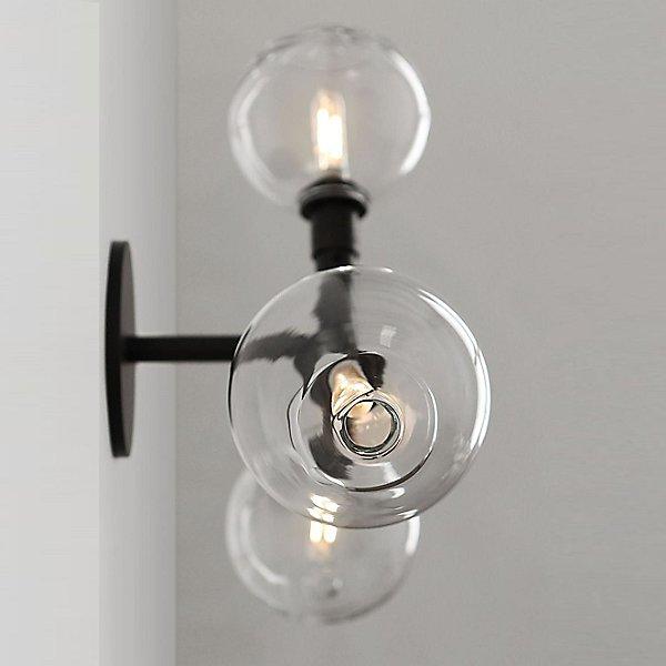Stem 3-Light Wall / Ceiling Light