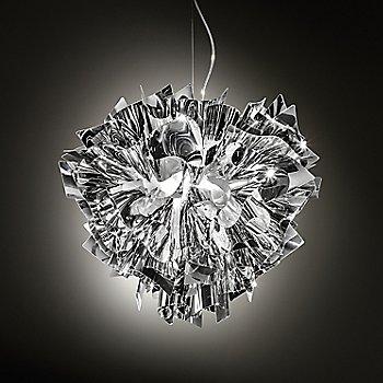 Silver finish, illuminated