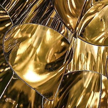 Gold finish / Detail view, illuminated