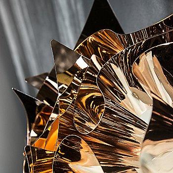 Copper finish / Detail view, illuminated