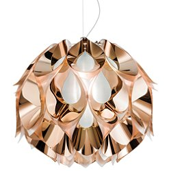 Flora Metallic Suspension Light