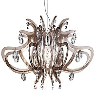 Lillibet Mini Chandelier by Slamp (Fume) - OPEN BOX RETURN