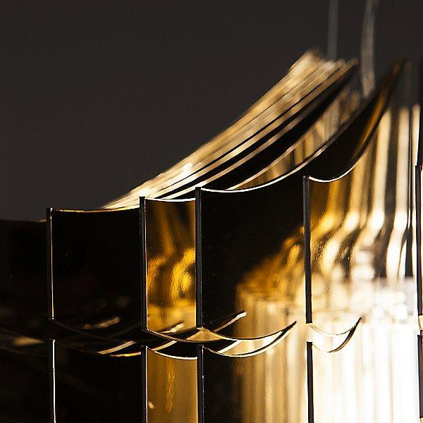 Aria Gold Suspension Light