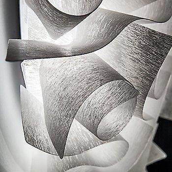 White / Detail view, illuminated