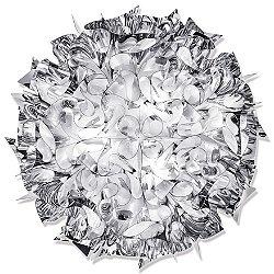 Veli Metallic Ceiling/Wall Light (Silver/Large) - OPEN BOX