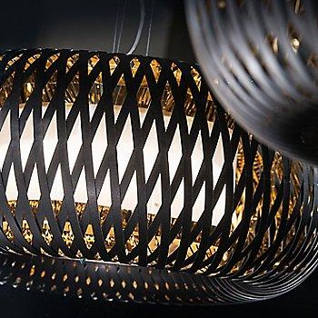 Black Gold finish / illuminated / Detail view