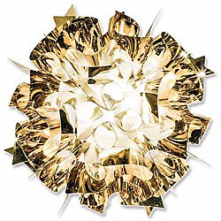 Veli Metal Wall/Ceiling Light (Gold/Small) - OPEN BOX RETURN