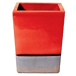 Cube Planter Set of Two (Red) - OPEN BOX RETURN