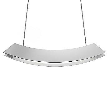 Shown in Bright Satin Aluminum finish, Small size