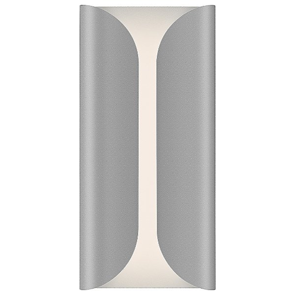 Folds Tall Outdoor LED Wall Sconce
