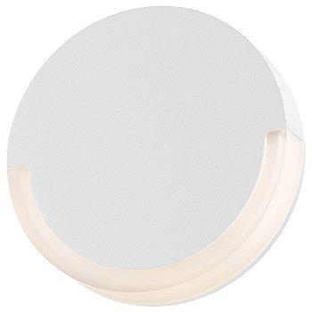 Shown lit in Textured White
