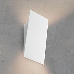 Angled Plane Narrow LED Wall Sconce - OPEN BOX RETURN