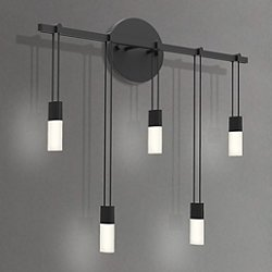 Suspenders 18 Inch Staggered Bar LED Wall Sconce