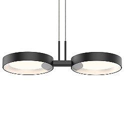 Light Guide Ring 2-Light LED Pendant Light