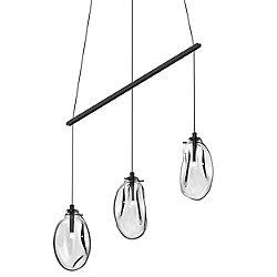 Liquid 3-Light Linear Spreader LED Pendant Light