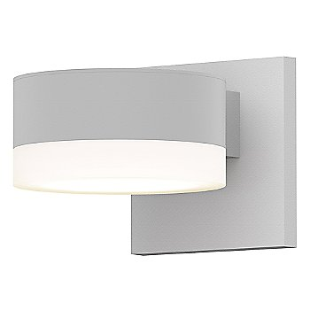 Shown in Frosted Polycarbonate Cylinder, Textured White finish
