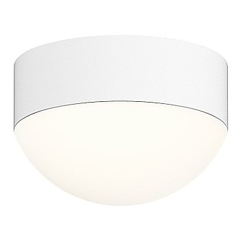 Shown in Frosted Polycarbonate Dome,Textured White finish
