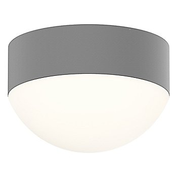 Shown in Frosted Polycarbonate Dome,Textured Gray finish