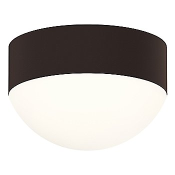 Shown in Frosted Polycarbonate Dome,Textured Bronze finish