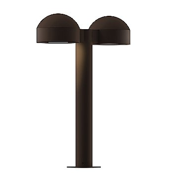 Shown in Flat Lens with Textured Bronze finish, 16 inch
