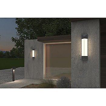 Box LED Bollard with Triform LED Bollard