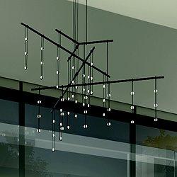 Suspenders 48-Inch 4-Tier Tri-Bar LED Suspension Light