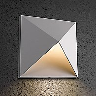 Prism LED Outdoor Wall Sconce(Textured Gray)-OPEN BOX RETURN