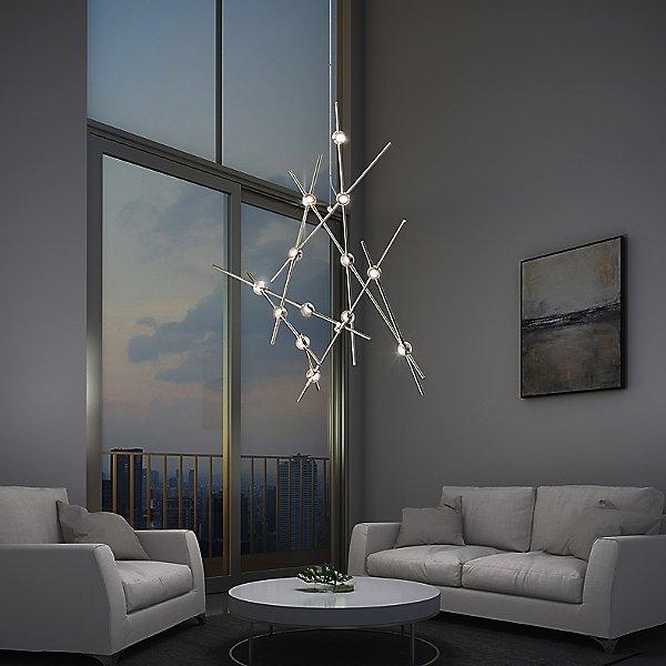 Constellation Aquila Minor Chandelier