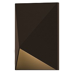 Triform Compact Outdoor LED Wall Sconce (Textured Bronze) - OPEN BOX RETURN