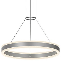 Double Corona LED Pendant Light