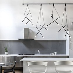 Suspenders 8 Foot 1-Tier Linear Suspension Light