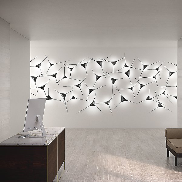 Abstract LED Surface Mount 3-Piece Configuration
