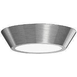 Oculus LED Flushmount (13-Inch/Nickel) - OPEN BOX RETURN