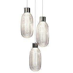 Friso 3-Light LED Pendant Light