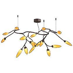 Vines LED Semi-Flush Mount Ceiling Light