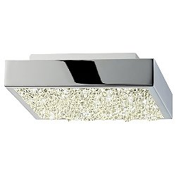 Dazzle 10 Inch Square LED Flush Mount
