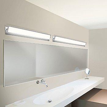 Shown in Bright Satin Aluminum finish