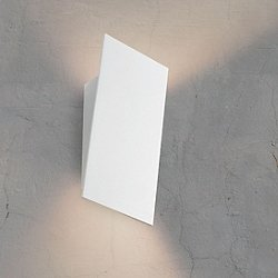 Angled Plane Narrow LED Wall Sconce