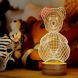 Teddy Bear LED Table Lamp