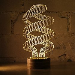 Spiral LED Table Lamp by Studio Cheha - OPEN BOX RETURN