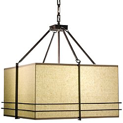 Mesa Square Pendant Light