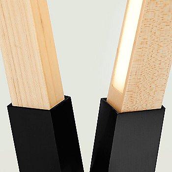 Maple / Blackened Steel