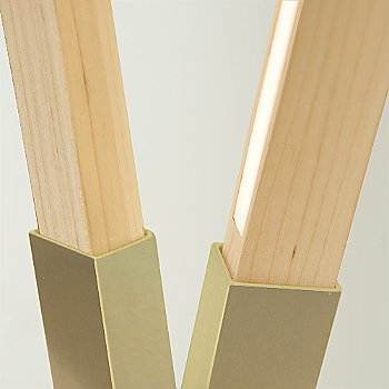 Maple / Brushed Brass