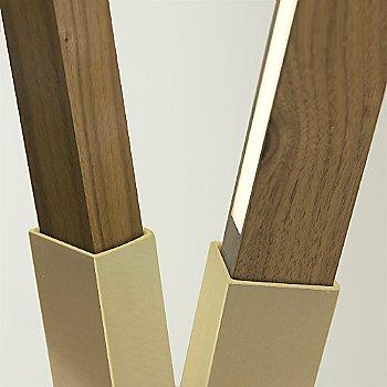 Walnut / Brushed Brass