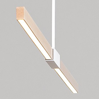 6 Foot LED Linear Suspension