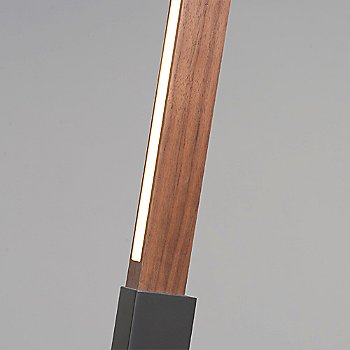 Slate Grey finish with Walnut / Detail view