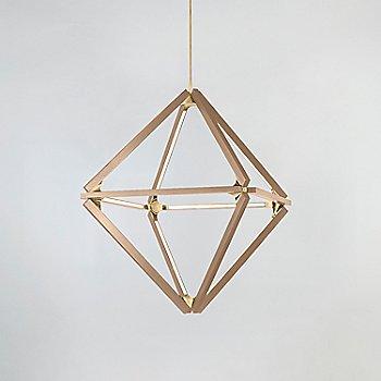 Maple, Polished Brass finish