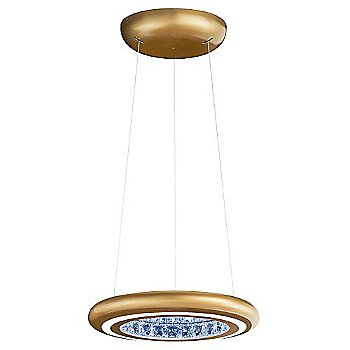 Shown in Glimmer Gold finish, Small size